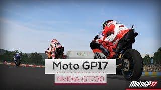MotoGP17 on Intel Core 2 Quad Q8400 & Nvidia GT730