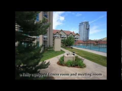 Kelowna Real Estate YouTube - #1205 - 1128 Sunset Drive - Sunset Waterfront Resort