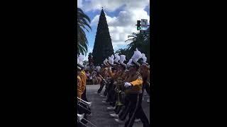 LSU Band at the Citrus Bowl Parade 2017