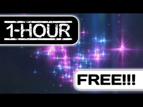 60:00 Minutes (!!!) Longest Sparkling Stars - 60fps Motion Backgrounds