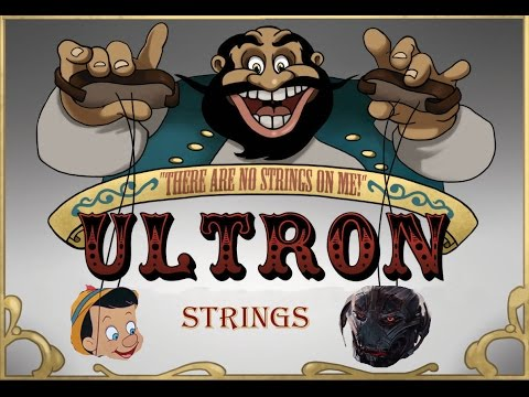 Ultron Vs Pinocchio - There are No Strings Avengers remix DJ Electro Swingable