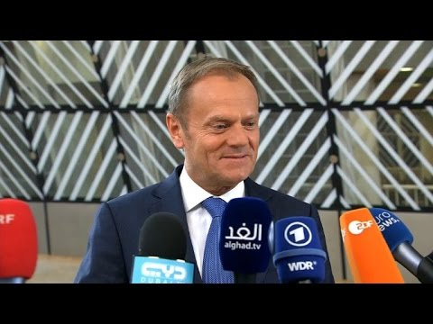 Thumbnail: Brexit: Tusk calls for 'solid guarantees for citizens'