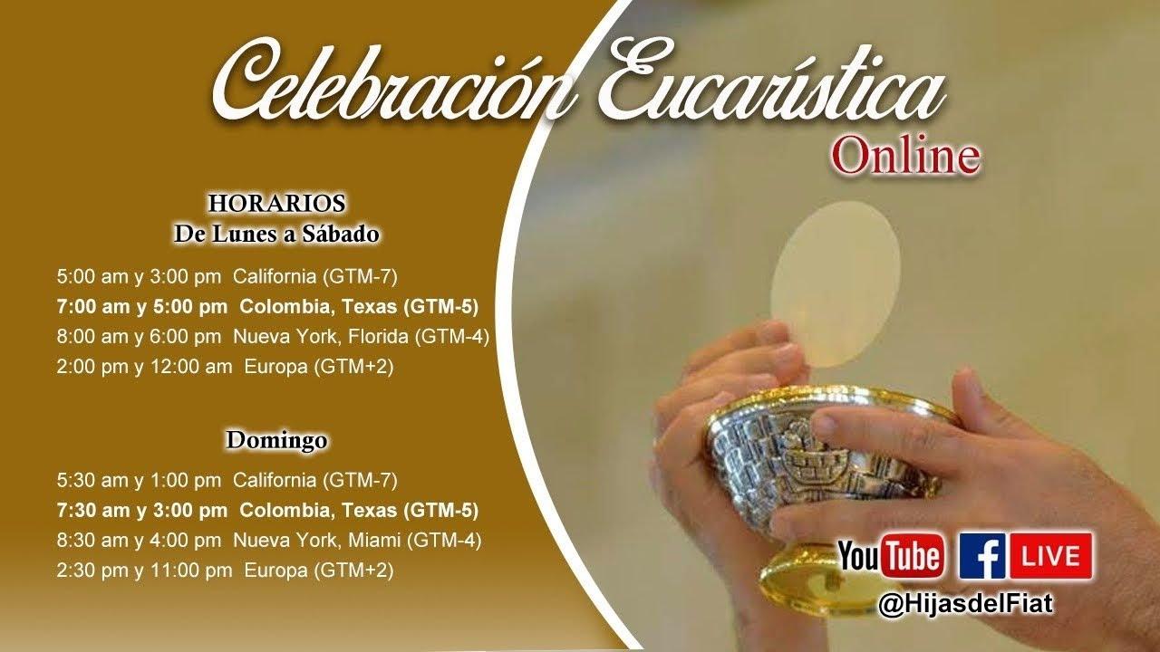 Casa del Ave María - Divina Eucaristía 22/11/20 03:00 pm
