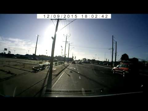 Adelaide Driver Behaving Badly - Red light runner
