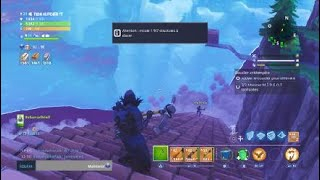 GLITCH FONTAINE BOIS FORTNitE PASSER UNDER THE MAP (EPIC GAMES)