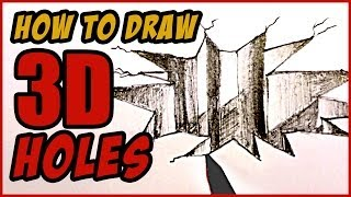 How to Draw A 3D Hole in Paper | MAT