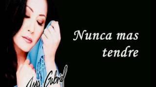 Ana Gabriel - Eres todo en mi (Karaoke).