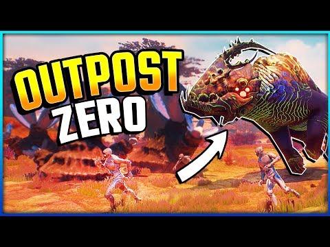 OUTPOST ZERO - NEW Sci-Fi Survival! No Man's Sky Meets Pantropy (Outpost Zero Gameplay Part 1)