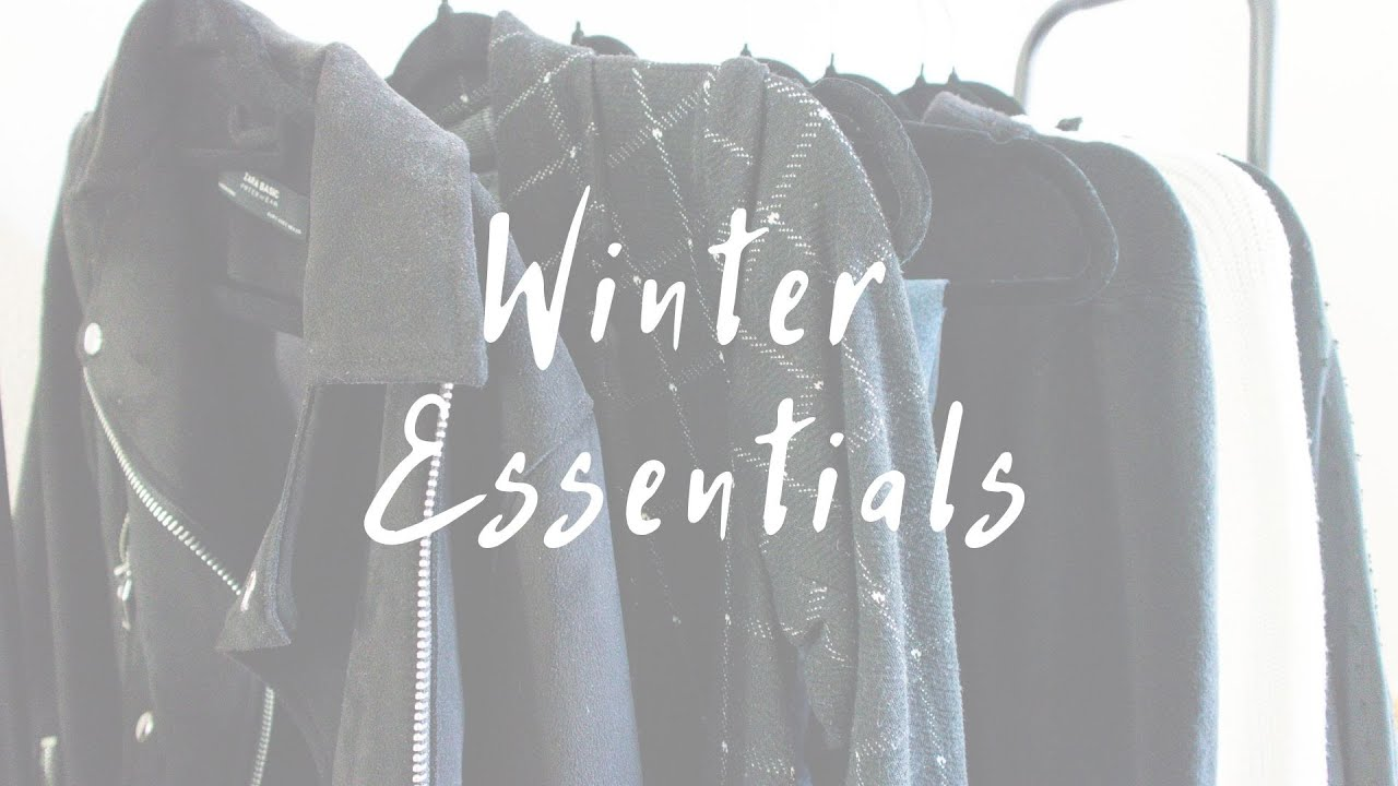 Winter Essentials | Capsule Wardrobe | Tips From A Stylist