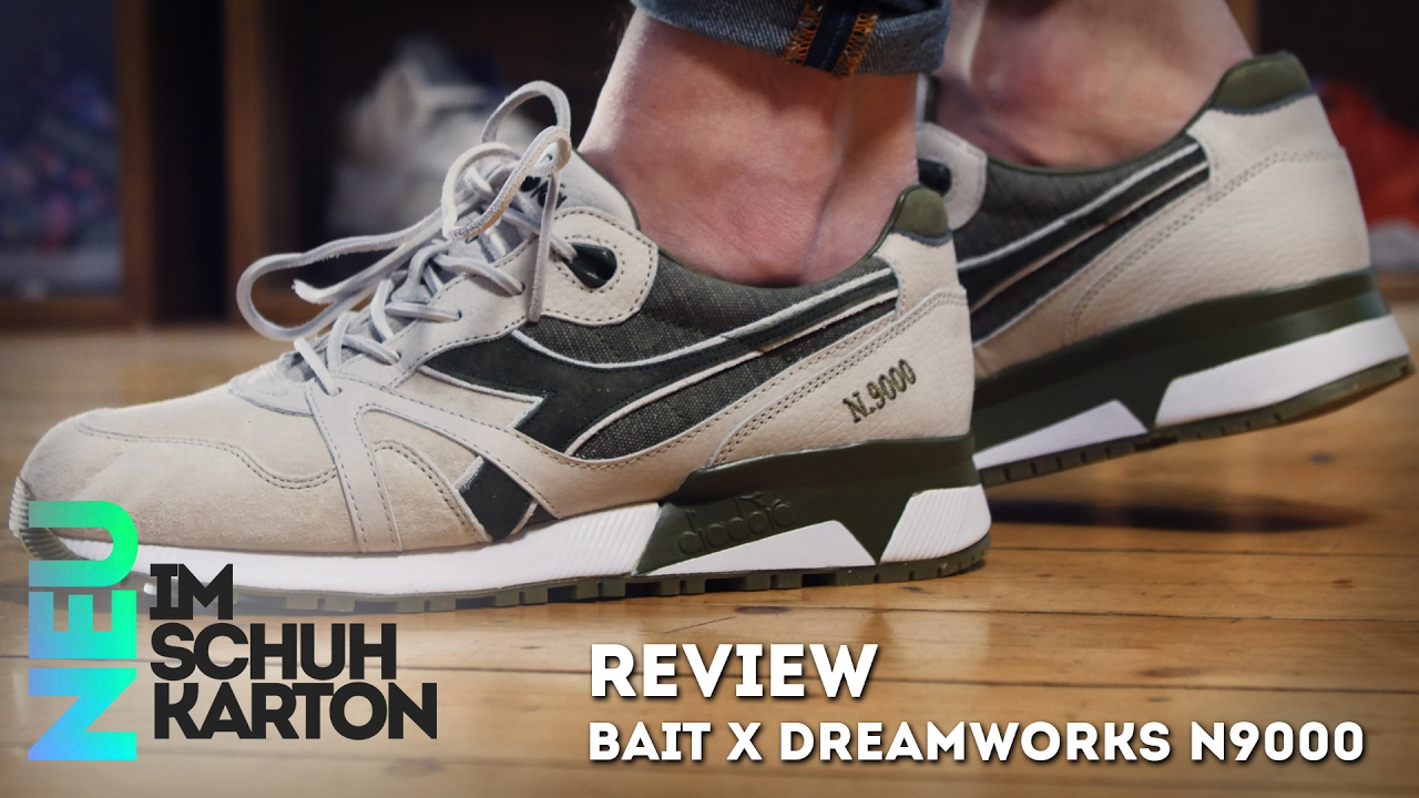 Bait x Diadora x Dreamworks N9000 | Review