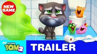 Bathroom Buddy - My Talking Tom 2 - Official Trailer #3