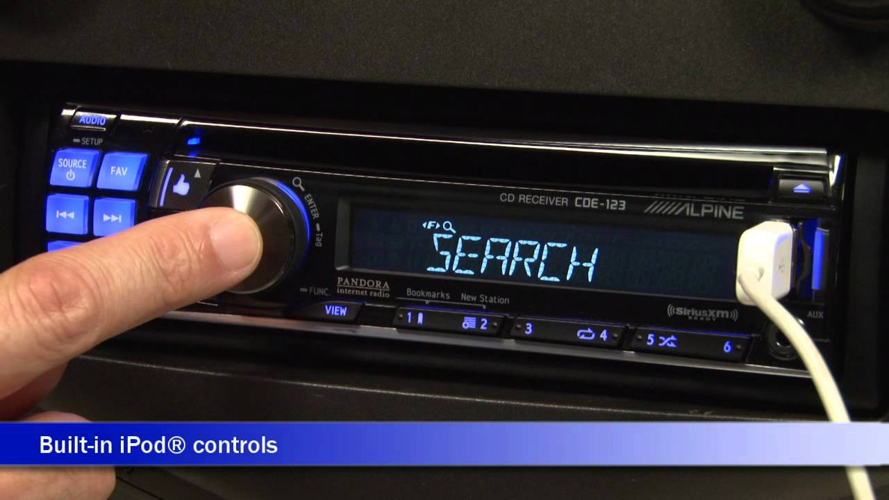 Alpine cde 123 cd receiver display and controls demo crutchfield alpine cde 123 cd receiver display and controls demo crutchfield video sciox Images