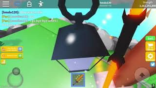 Roblox saber simulator new update farming for warlord part 1!