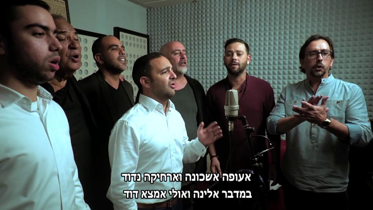 אעופה אשכונה - ליאור אלמליח, מיכה שטרית, זאב רווח וחברים - ahufa eshkona lior elmaleh