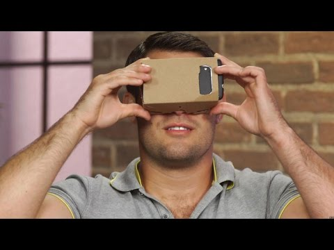 CNET How To - Make a virtual reality headset - YouTube
