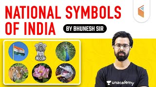 For All Competitive Exams | National Symbols of India by Bhunesh Sir