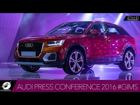 Audi Press Conference Geneve International Motor Show 2016