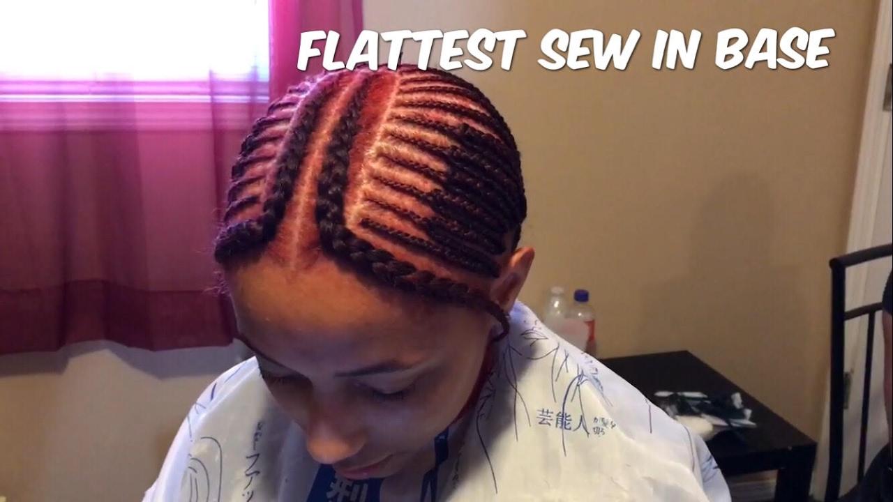 Flat Sew In Base Tutorial KasiaMae Beauty YouTube