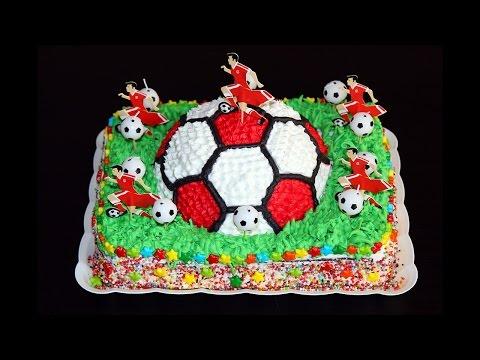 Торт / Футбольный мяч / Сборка торта / Football Cake /Assembling the cake / Моя Dolce vita