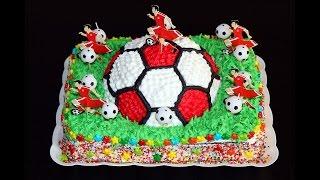 Торт для детей. Футбольный мяч. Торт мяч. Сборка торта. Моя Dolce vita