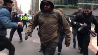 BREAKING: DC Police Pepper Spray Protesters Prior To Inauguration