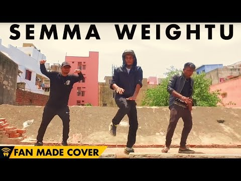 Semma Weightu - Kaala | Dance Cover | Rajinikanth | Wunderbar Films | House of Moves