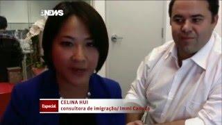 GloboNews Especial: Imigração - Participação especial Immi Canada