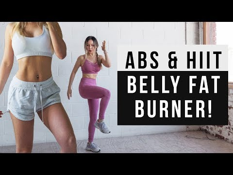 Belly Fat Burner Workout | 20 MIN ABS & HIIT CARDIO Workout At Home | No Jumping alt