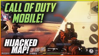 Call of Duty MOBILE Team Deathmatch ON HIJACKED - BETA Footage Looks AWESOME!!