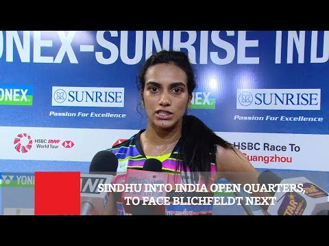 Sindhu Into India Open Quarters,To Face Blichfeldt Next Mp3