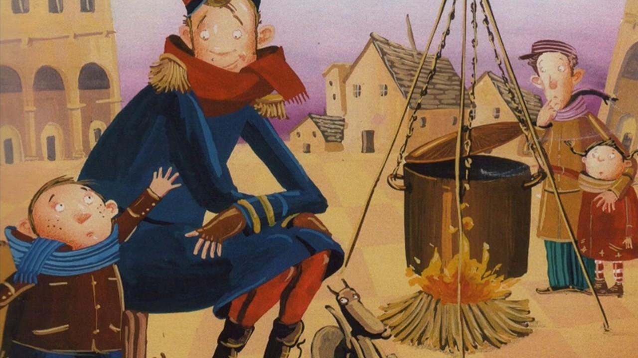 Sopa de pedres (conte popular) by Xavi Llamas - YouTube