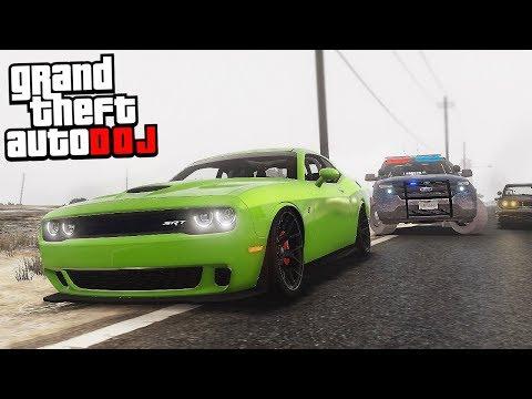 GTA 5 Roleplay - DOJ 46 - Hellcat Chase