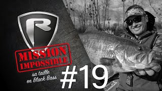 *** Fox Rage TV *** Mission Impossible #19 BLACK BASS
