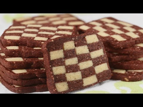 Checkerboard Cookies Recipe Demonstration - Joyofbaking.com