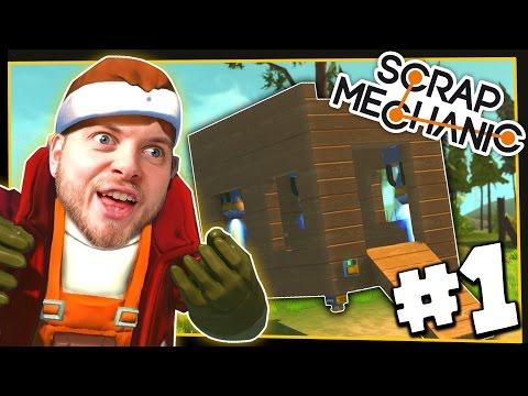 Scrap Mechanic! - LEARNING THE BASICS! - [#1] | Gameplay |