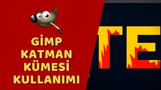 Gimp - Katman Kümesi (Metin Efekti)