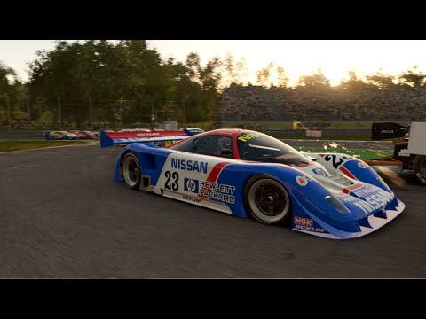 Group C And GTO Multi-Class Race At Monza (Project CARS 2 Nissan R89C)