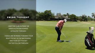 Golf Tips: Improve the quality of your contact with your wedges around the green - Episode 3