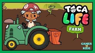Toca Life Farm With Farm Animals & Tractor - Farm App For Kids