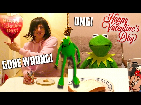 Kermit the Frog Valentines Day Date GONE WRONG!