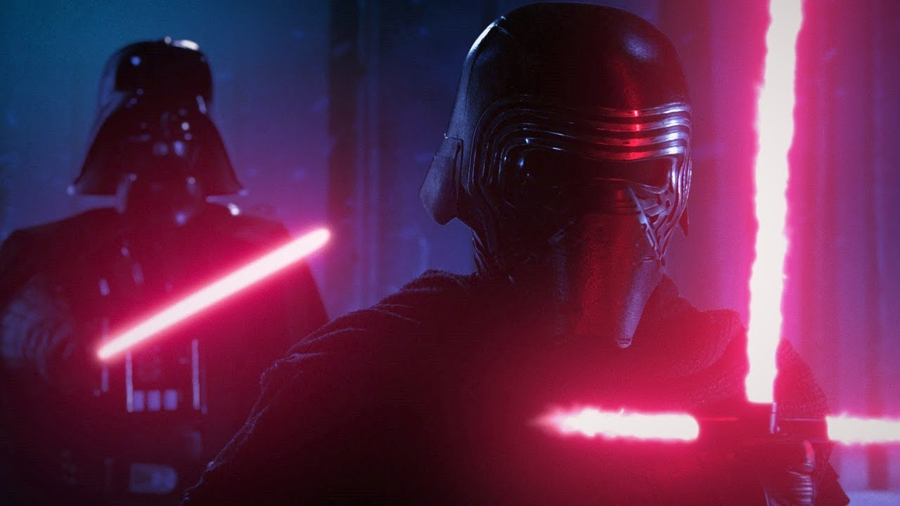 Kylo Ren Vs Darth Vader Force Of Darkness A Star Wars Fan Film Youtube