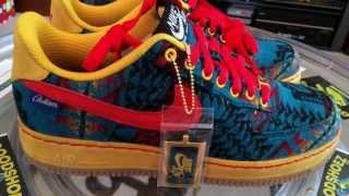 rumor Carne de cordero Inolvidable  NIKE ID @NikeID Air Force 1 Low - @DJOakCliff Pendleton Wool - Blue  material - 12-28-13 - YouTube
