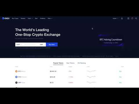 How To Buy Bitcoin \u0026 Other Crypto On OKEx | Buy Bitcoin With Credit Card  | Buy Bitcoin 2021
