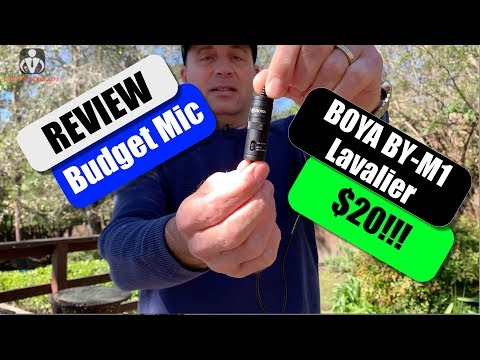 Budget Mic ($20) Review - BOYA BY-M1 Lavalier Microphone
