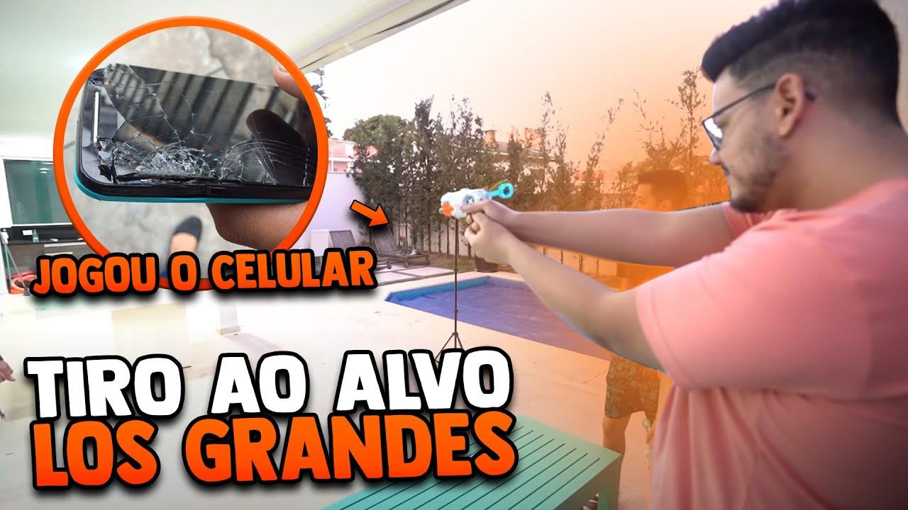 QUEM DA MAIS CAPA?? TIRO AO ALVO DIFERENCIADO - LOS GRANDES FREE FIRE