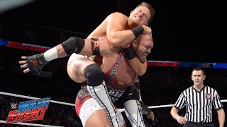 Ryback vs. The Miz: WWE Main Event, March 21, 2015