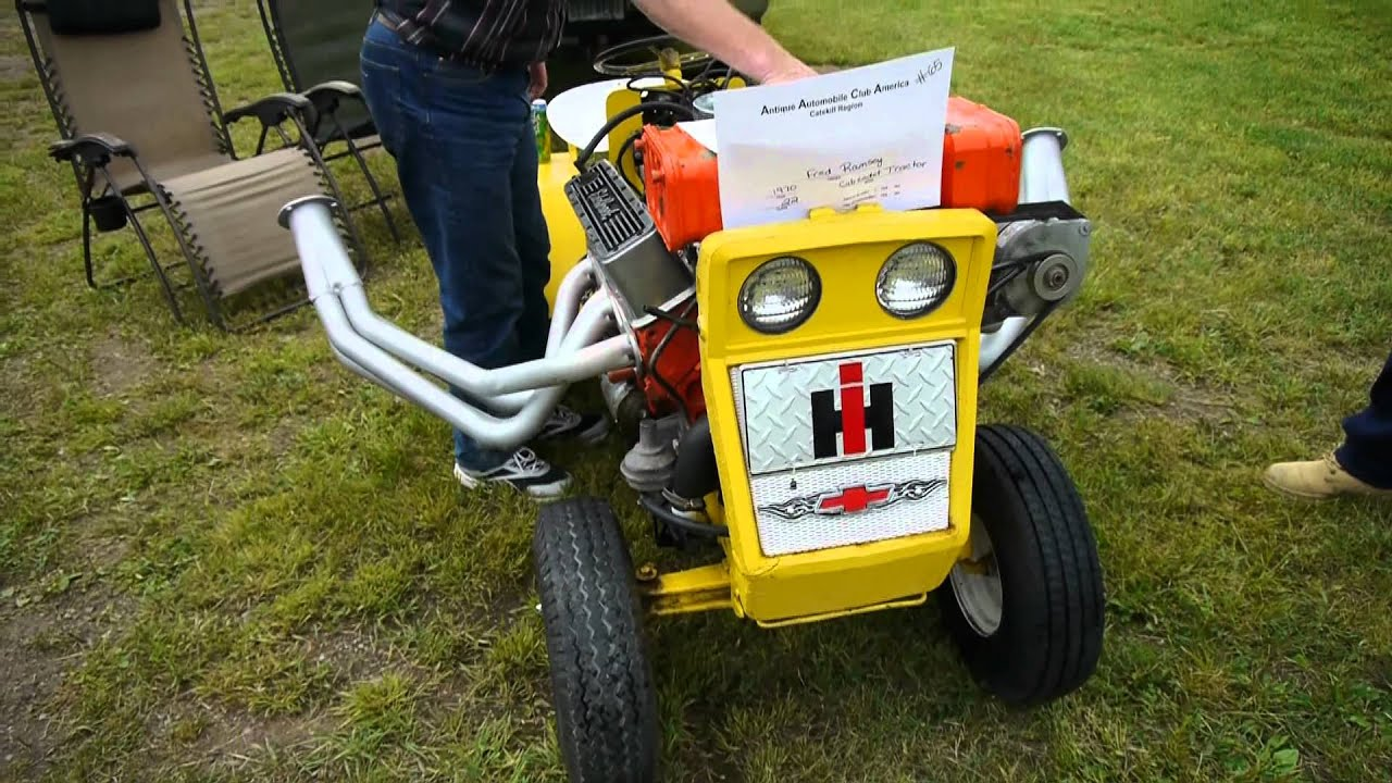 Insane Lawn Mower With Corvette Engine Youtube