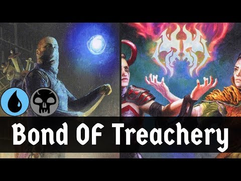 ALL YOUR STUFF IS MINE!! Dimir Bond Of Treachery (Steal Your Deck Deck) | M20 | MTG Arena