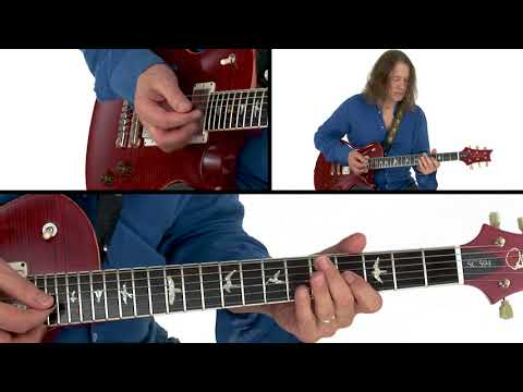 Robben Ford Guitar Lesson - Bluesy Water Breakdown - Rhythm Revolution: Vamps & Jams