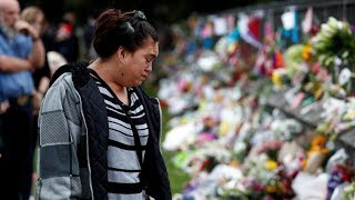 New Zealand shootings memorials grow as the number of dead rises